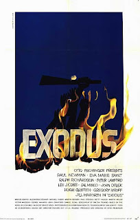 Exodus poster by Saul Bass