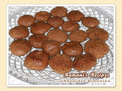 Chocolate Biscuits - Be Great Chefs series for kids @ Ramani's Recipes
