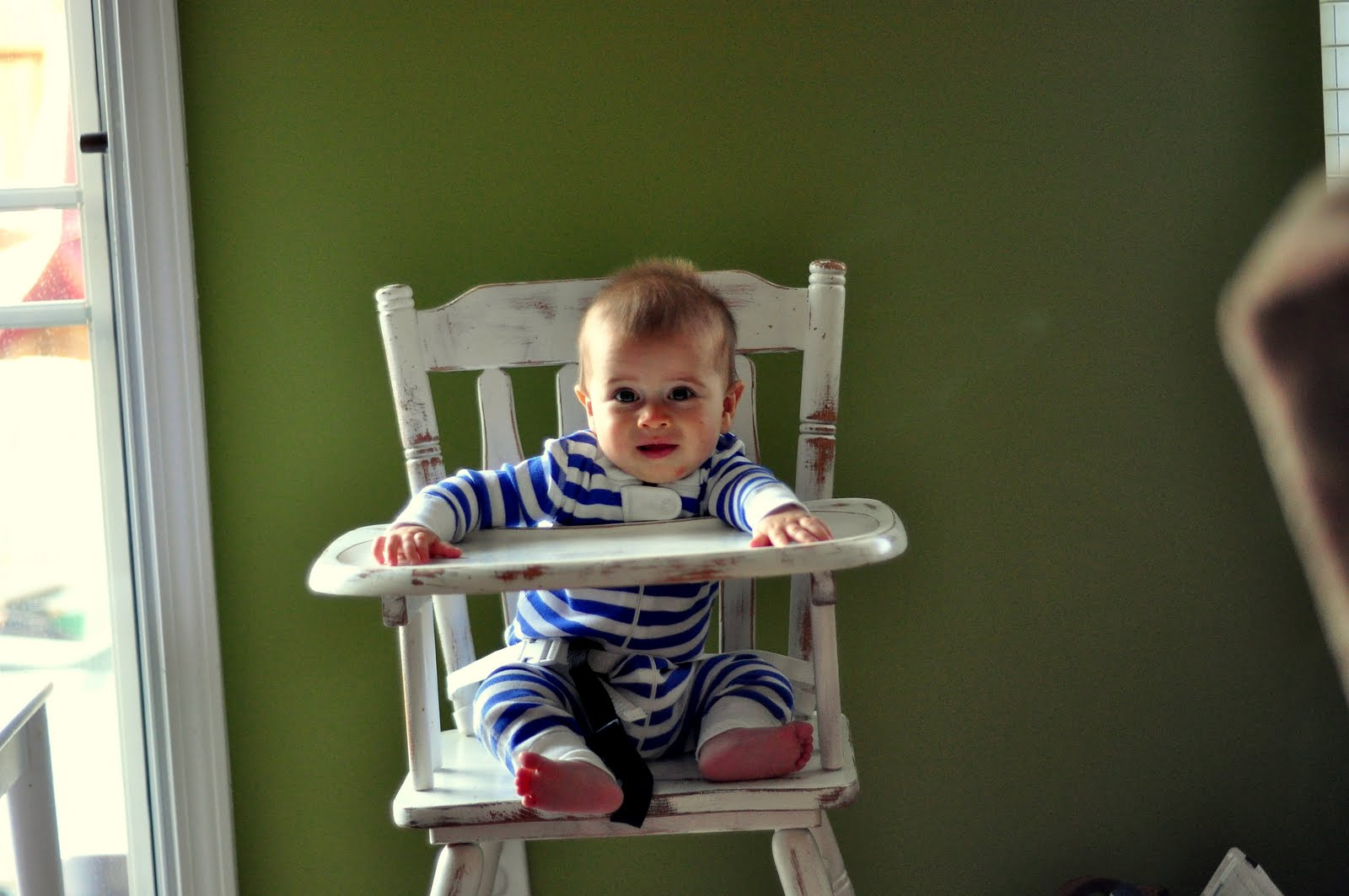 Amish wooden high chairs - Sittin In My Highchair