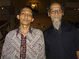 Mas Tiyas dan Bapak Joko Pekik