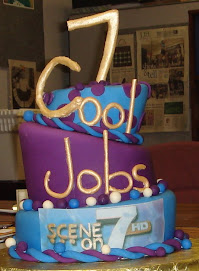 Scene on 7 Art Eats Bakery cool jobs cake