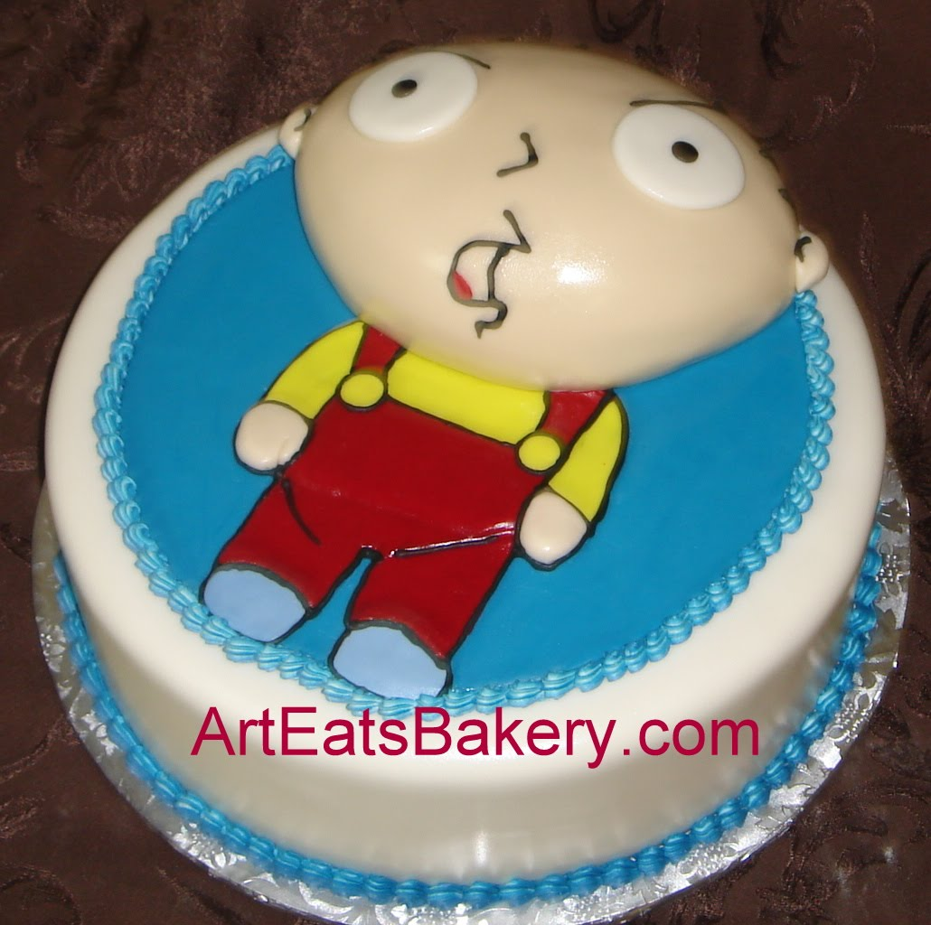 fondant birthday cakes for guys