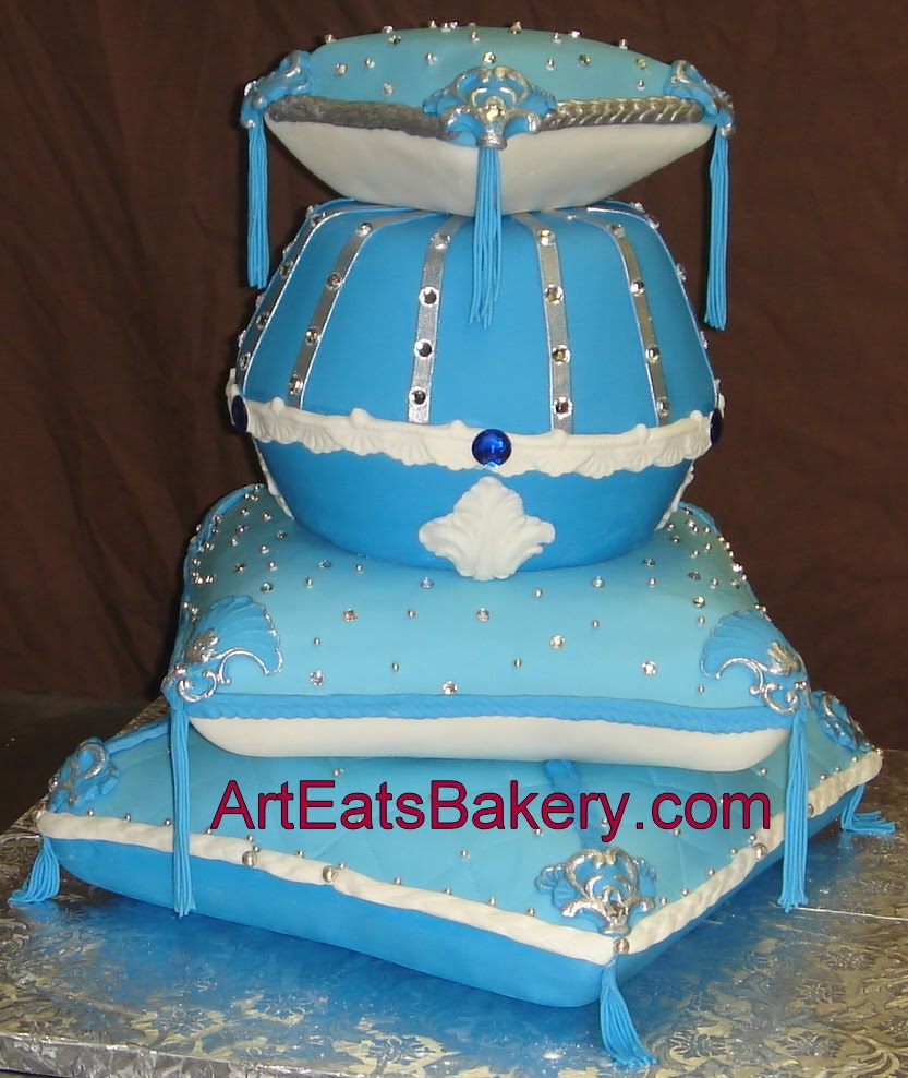 ... custom fondant wedding and birthday cake designs, pictures and recipes