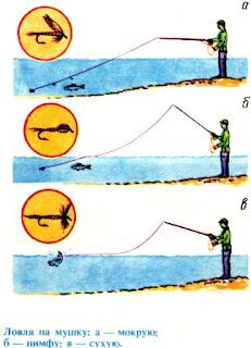 снасть для ловли форели на мушку