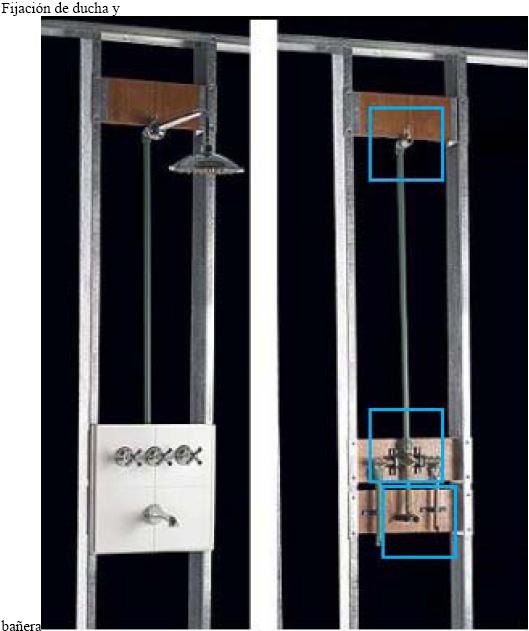 Instalaciones sanitarias ducha lavatorio inodoro bid for Ducha para lavatorio