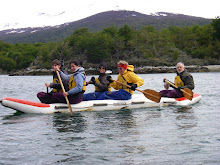 Waka Training on the Beagle Channel!