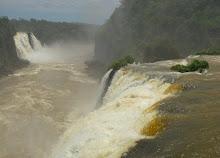 Iguacu Falls from Brazil side