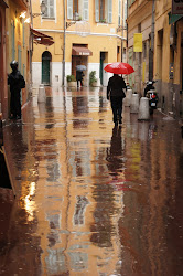 A rainy day in Nice