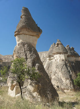 Fairy Chimneys, at Pasabagi, near Goreme