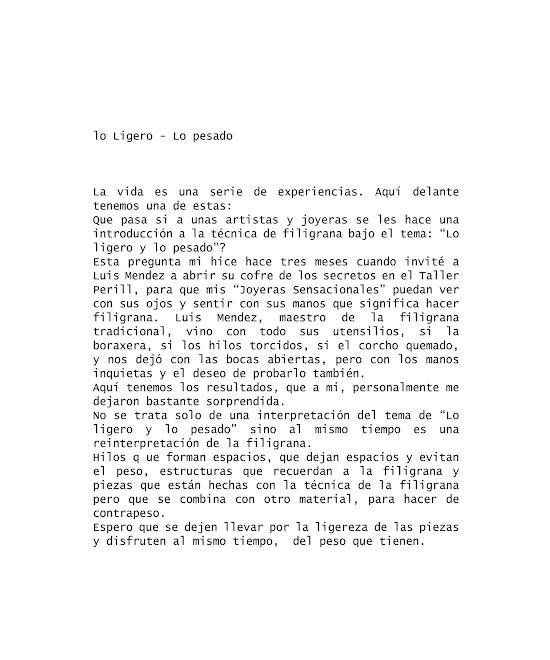 'Lo LIGERO - Lo pesado' - Taller Perill - Joyas SENSACIONALES dans Auba PONT (ES) 1Silvia+copia.psdblog