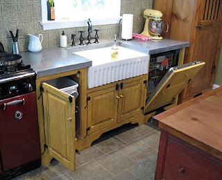 Superb One Of Them    Kevin Ritter Of Timeless Kitchen Design    Even Sent A Link  To A Kitchen He Did That Featured Tin Wall Tiles And Concrete Countertops.