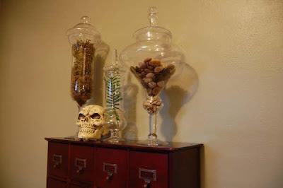 Gothic Cabinet on Love The Fern Leaf Taking Up The Length Of The Shorter Apothecary