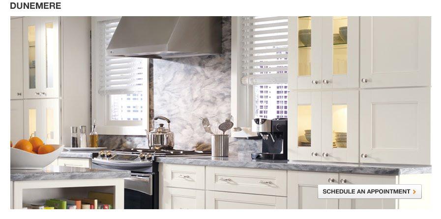 Kitchens At Home Depot    By Martha Stewart!