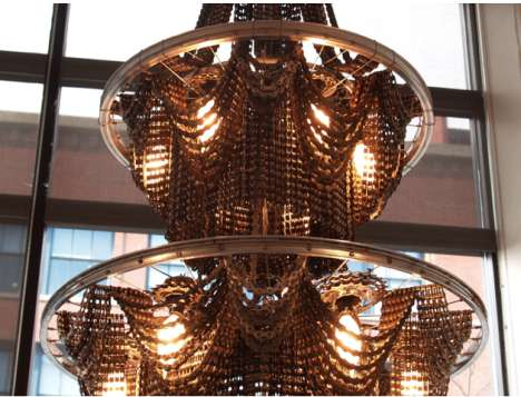 The Steampunk Home Surprising Chandeliers From Bicycles