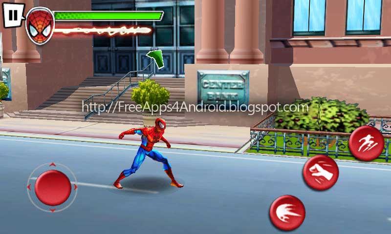 Ultimate Spiderman Total Mayhem Game Free Download