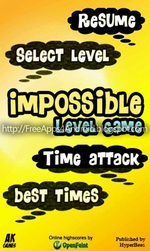Impossible Level Game 01 Descargar PAck de juegos apps para Android [APK][Tablet][Android ] Full