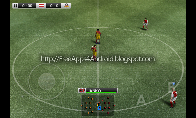 football atmosphere and the true PES experience with PES 2011