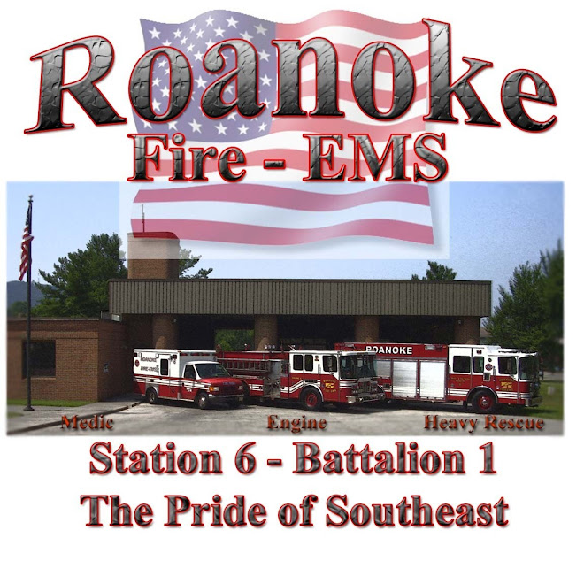 "RFD Engine Co. 6, ""The Pride of Southeast Roanoke"""