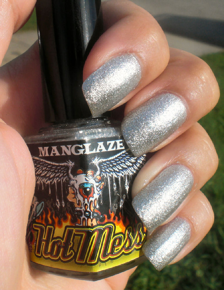 Concrete and Nail Polish: ManGlaze