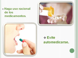 Evite automedicarce