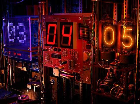 Digital Clock 3D Screensaver