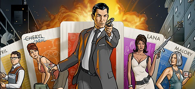 Secret Agent Sterling Archer Loves To Relax With Hot