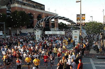 The Baltimore Running Festival Race