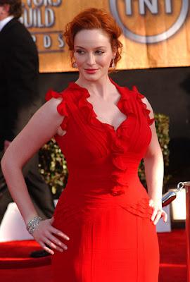 Mad Men Actress Christina Hendricks Marries Geoffrey Arend Pictures