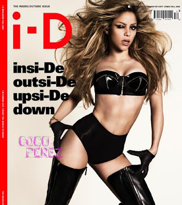 Shakira at the i-D Magazine Cover Pictures