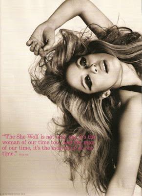 Shakira at the i-D Magazine Cover Photo