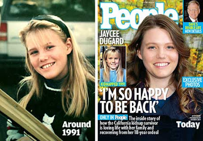 Jaycee Dugard in People Magazine Cover pics