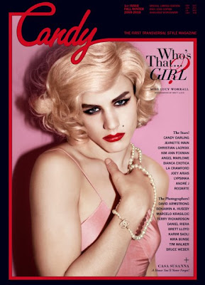 Luke Worrall in Candy Magazine Covers Fall/Winter 2009