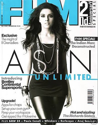 Actress Asin Photoshoot for FHM Magazine
