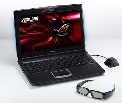 ASUS First GeForce 3D Vision Notebook pics