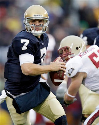 Jimmy clausen punched