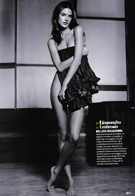 Alessandra Ambrosio Photo Shoot for Damm 4 DT Magazine