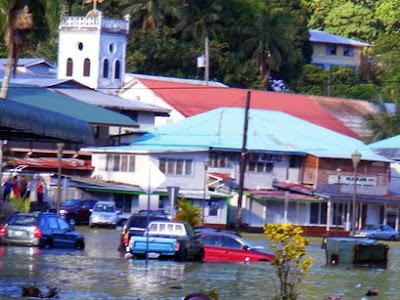 Samoan Tsunami Wave was 46 Feet High