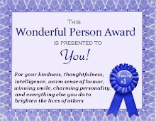 Wonderful Person Award