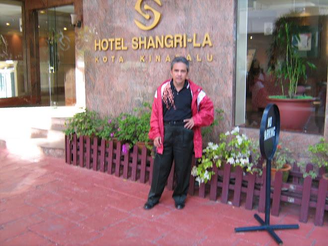 Lawatan ke Sabah pada 20 Julai, 2007.( PLB. Pk.Tgh)