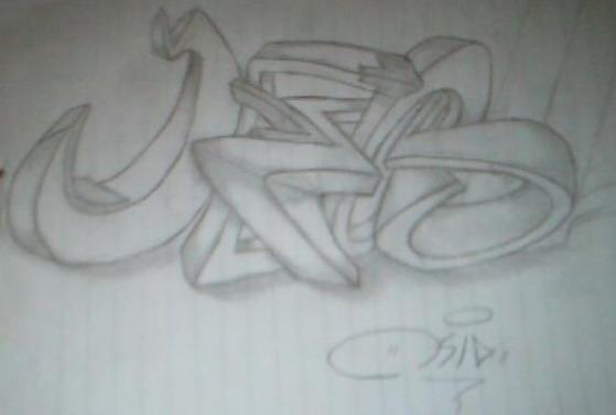 ... itu Seni bukan Kejahatan ! Cara Membuat Graffiti 3 dimensi GRAFFITI