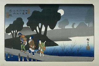Hiroshige- Myanokoshi