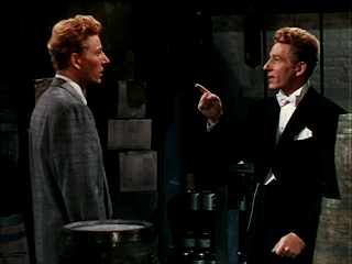 danny kaye is arguing with danny kaye. wacky!
