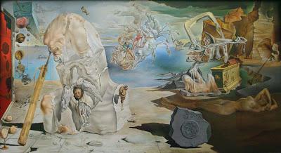Salvador Dali: The Apotheosis of Homer, 1945