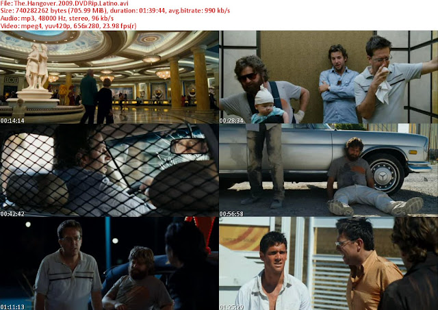 Resacon En Las Vegas [The Hangover] DVDRip Español Latino Descarga 1 Link