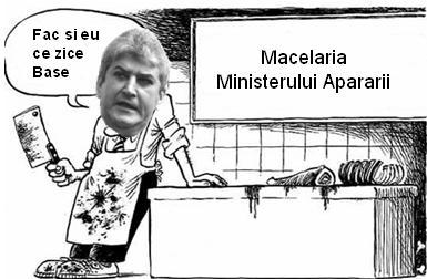 Macelaria Ministerului Apararii - Gabriel Oprea