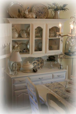 My Romantic Home The China Cabinet Makeover