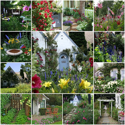 My Romantic Home Inspiration Friday Cottage Gardens