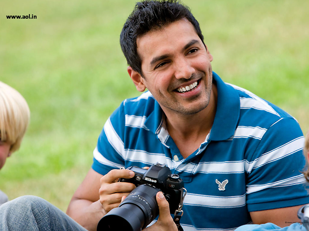 John Abraham shirt in New york. After modeling for numerous advertisements