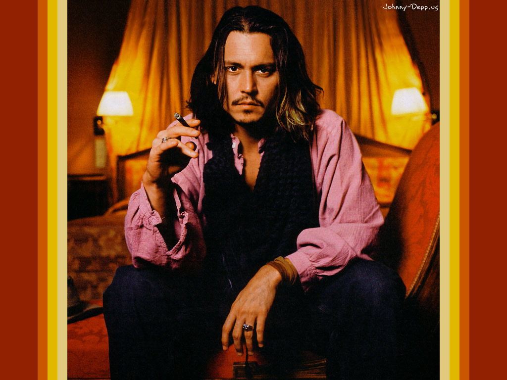 hot johnny depp wallpaper