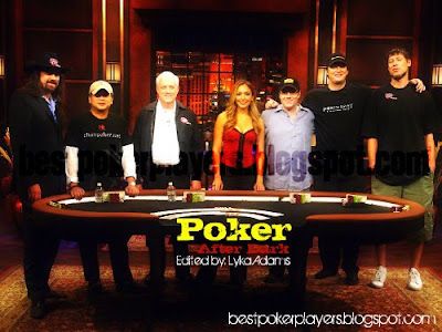 Poker After Dark Host and Contestants 2
